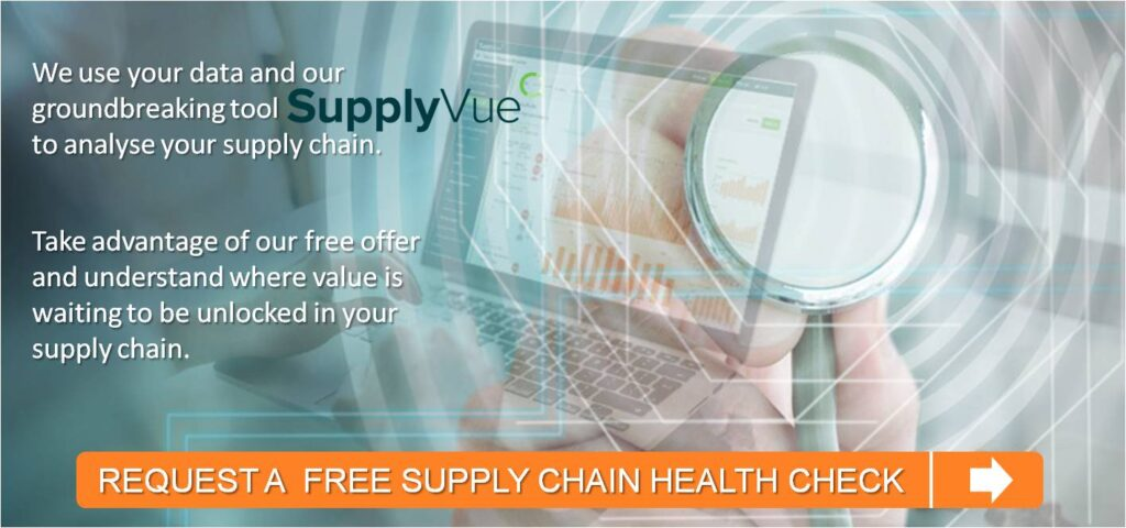 Analytics driven supply chain health check with Supplyvue